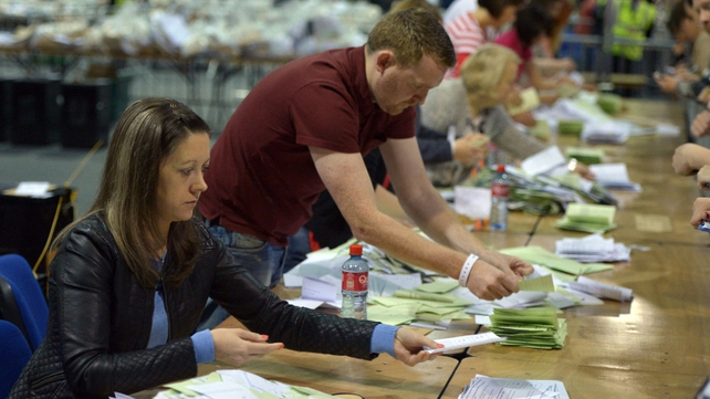 A result is expected in the marriage referendum this evening