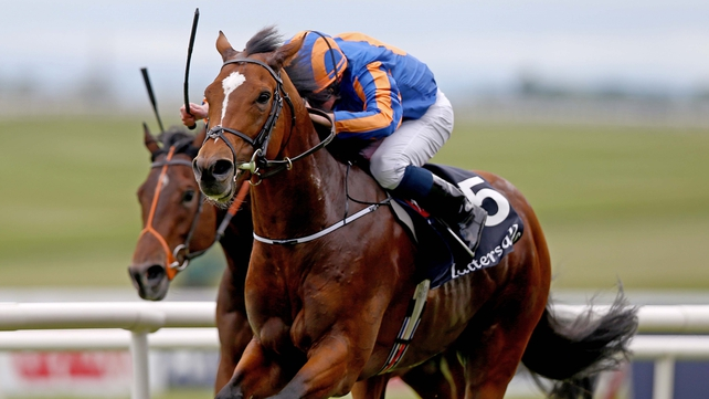 Gleneagles eased to an impressive win at the Tattersalls 2,000 Guineas