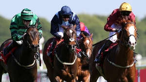 Pearl Secret ridden by George Baker(R) wins the betfred.com Temple Stakes
