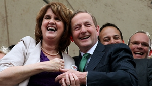 Tánaiste Joan Burton says the timing of the election is up to the Taoiseach