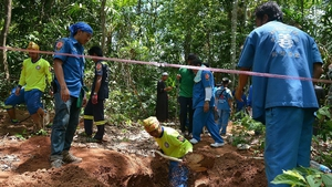 Malaysian police said earlier this week that a total of 139 grave sites had been found