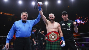 Gary 'Spike' O'Sullivan proved too much for Melvin Betancourt to handle