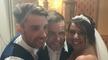 Gary Barlow with Anita and Alex Morrisey