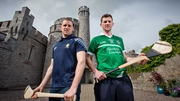 Clare's Colin Ryan and Limerick's Donal O'Grady