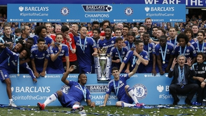 Chelsea lifted their Premier League title after their 3-1 win over Sunderland