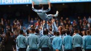 Manchester City say goodbye to Frank Lampard