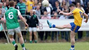Roscommon's Ciaran Murtagh scores a point