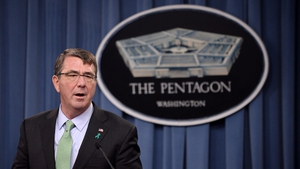 US Defense Secretary Ashton Carter said Beijing was 'out of step' with international norms with its behaviour in disputed waters