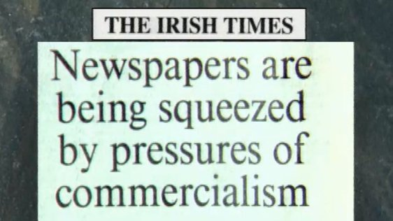 The Irish Press Publishes Its Last Issue