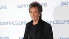 Al Pacino at the London premiere of Danny Collins
