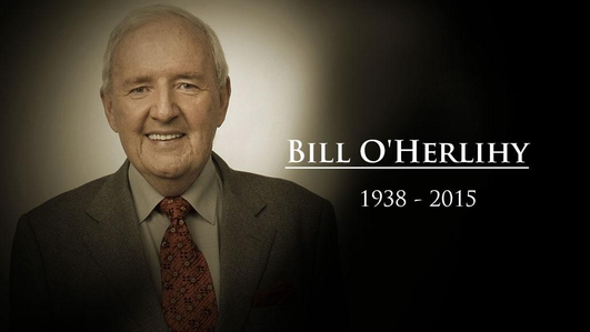 Johnny Giles and Ray Houghton pay tribute to the late Bill O'Herlihy