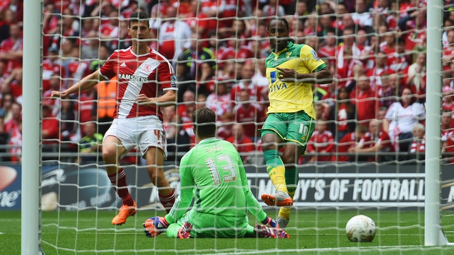 Norwich beat Boro to win promotion to Premier Lge