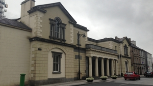Groups opposed to the actions being taken by banks in relation to repossessions attended proceedings at Castlebar courthouse