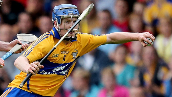 Podge Collins hung up his hurl to play football for Clare