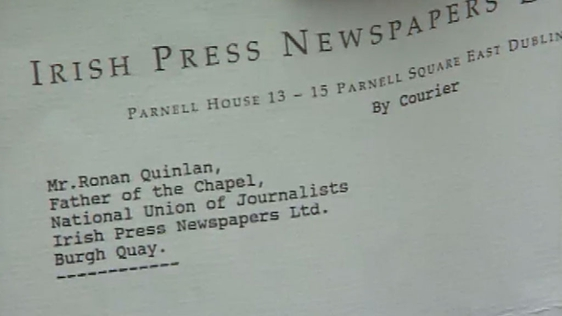 Irish Press Makes Entire Staff Redundant