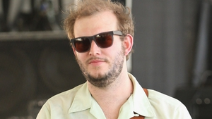 Justin Vernon performing in 2013