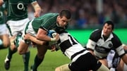 Shane Jennings has previously played for Ireland against the Barbarians back in 2008
