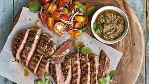 Neven Maguire's Rib-eye Steak with Chimichurri