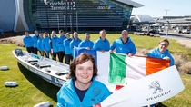 Rowing for charity