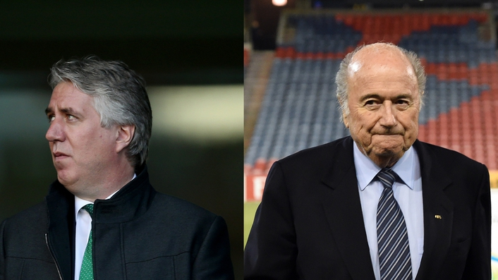 Blatter must go, says FAI chief