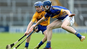 Clare's Podge Collins and Tomas Hamill of Clare in 2013