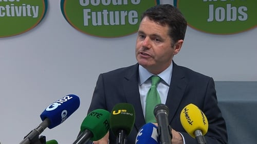 Paschal Donohoe said that after 'detailed consideration', it was agreed that the Government would support the proposal
