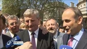 Nine News Web: Aylward arrives in Leinster House following by-election victory