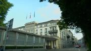 The Baur au Lav hotel in Geneva where the arrests were made