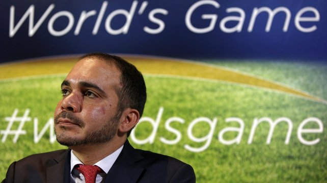 FIFA presidential candidate Prince Ali