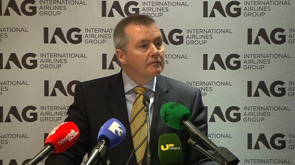 Willie Walsh says Heathrow slots will remain within Aer Lingus ownership
