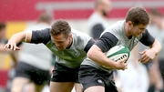 Uncapped Leinster men Colm O'Shea and Luke McGrath are two of five uncapped players in the Ireland squad to face the Baa-Baas
