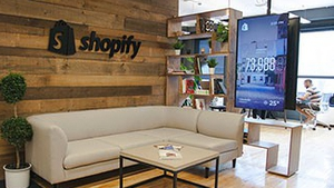 Based in Canada, Shopify employs 600 people around the world