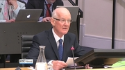 Patrick Neary is facing questions from members of the banking committee