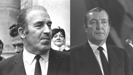 Neil Blaney and Charles Haughey