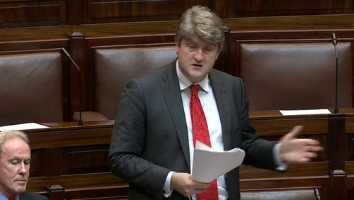 Michael McNamara accused the department and the minister of wanting to avoid debate
