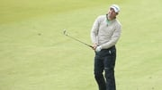 Padraig Harrington hit a hot streak on the back nine at Royal County Down