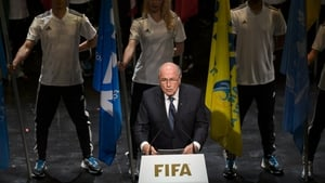 Sepp Blatter was speaking at the opening ceremony of the 65th FIFA Congress in Switzerland