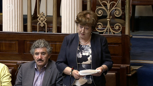 Catherine Murphy spoke in the Dáil on the business relationship between Denis O'Brien and IBRC