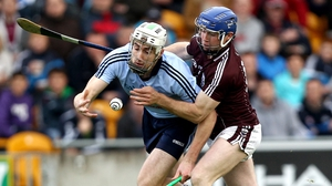 Peter Kelly (L) is expecting a tight encounter against Galway at Croker