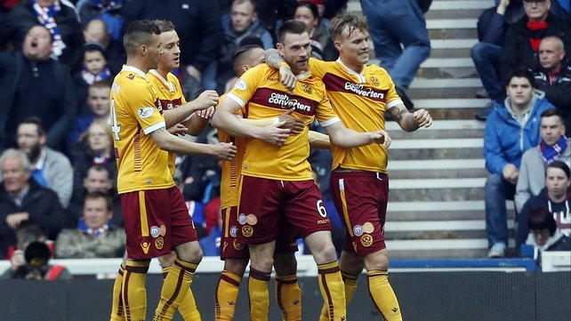 Motherwell record resounding win over Rangers