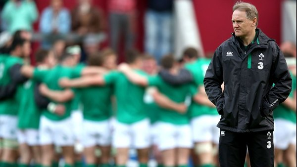 The Ireland coach is expecting a tough test in the World Cup opener