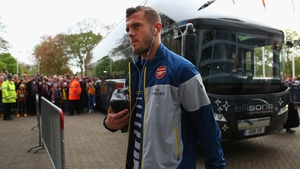 Jack Wilshere does not know if he'll ever line out for Arsenal again
