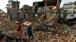 The 25 April quake had a magnitude of 7.8