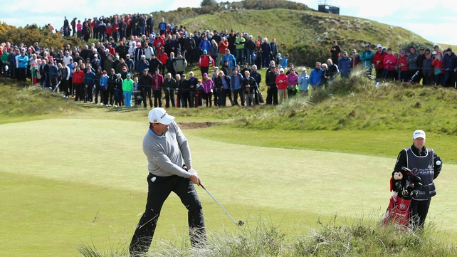 Harrington frustrated but remains in contention