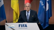 Nine News Web: Sepp Blatter re-elected as FIFA President