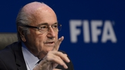 Sepp Blatter hit out at UEFA president Platini who had called for his resignation over the corruption scandals