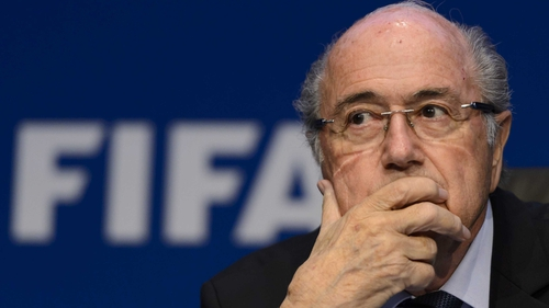 Blatter did confirm that FIFA has taken action to reassure its sponsors after concerns were expressed