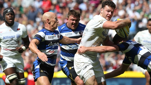 Peter Stringer started for Bath in his final game before leaving for Sale