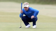 Soren Kjeldsen is the new leader at Royal County Down