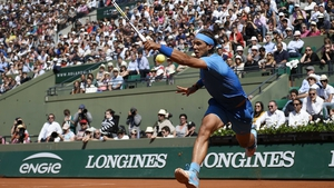 Rafa Nadal moves into the second week with an unblemished record and seems to be finding his best form